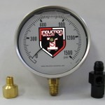 4 inch Liquid Filled Gauge