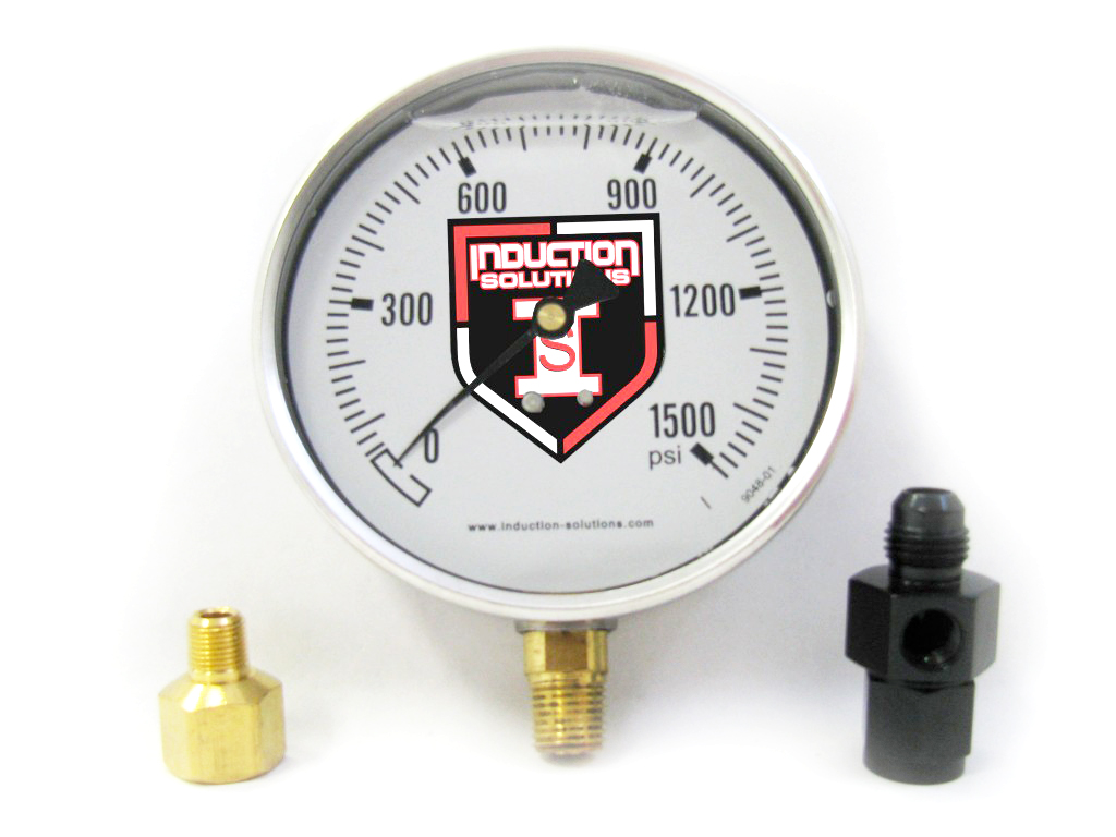 Four Inch Liquid Filled Gauge