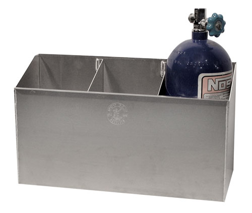 3 Bay 10lb Nitrous Bottle Rack